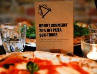 Пицария в Лондон предлага намаление на клиенти, които искат втори референдум за Брекзит