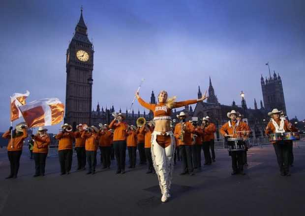 Новогодишен парад във Великобритания
