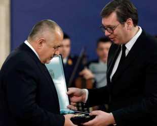 """Наградиха Бойко Борисов с """"Орденът на Република Сърбия"""""""