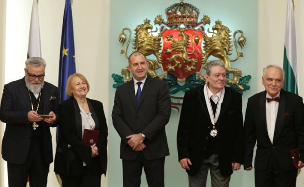 Наградиха с държавни ордени редица културни дейци