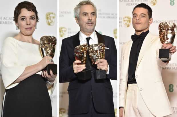 """Филмите """"Фаворитката"""" и """"Рома"""" с най-много отличия от наградите БАФТА"""