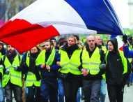 """Отново арестувани по време на протестите на """"жълтите жилетки"""""""