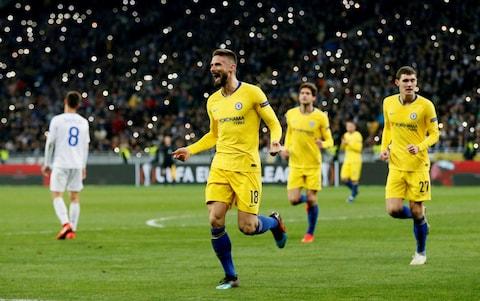 Челси отнесе Динамо в Киев с 5:0
