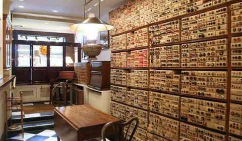 Уникален магазин за копчета в Ню Йорк
