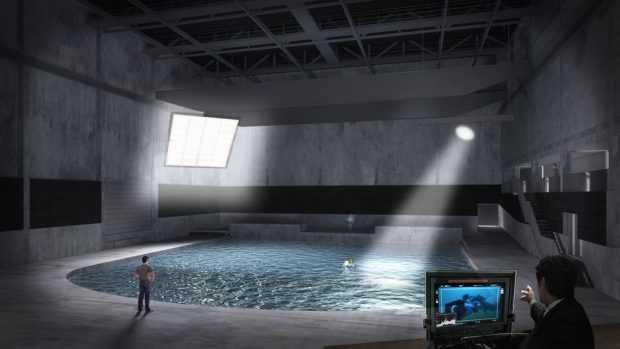 Да снимаш на 9 метра под вода – ново филмово студио отвори в Белгия