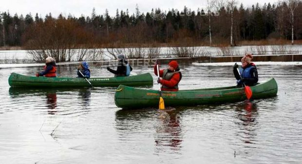 Разходка из наводнени райони – нов туристически хит в Естония