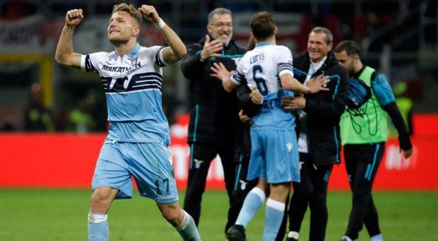 Лацио е първият финалист в турнира за Купата на Италия