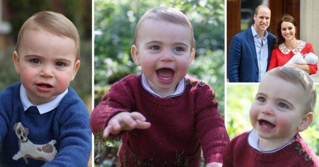 Британският принц Луи навърши една година