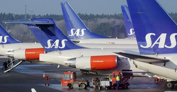 Близо 700 полета бяха отменени заради стачка на пилотите от скандинавските авиолинии