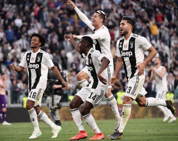 Ювентус стана шампион на Италия за осми пореден път след 2:1 над Фиорентина