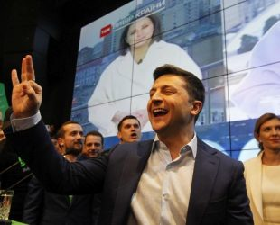 Новоизбраният президент на Украйна – главен герой по страниците на световните издания