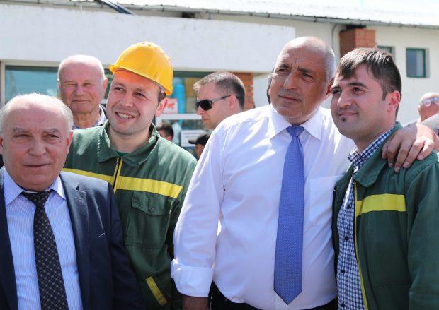 Нов цех за над 3 млн. евро откри премиерът Бойко Борисов в завода за олио в Карапелит