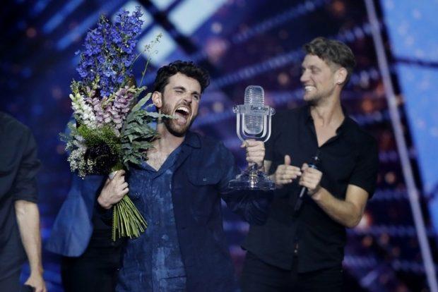 """Холандия е големият победител на финала на """"Евровизия"""""""