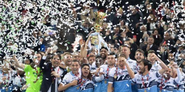 Лацио спечели Купата на Италия след 2:0 срещу Аталанта