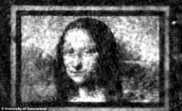 """Учени създадоха """"Мона Лиза"""" върху """"квантово платно"""""""