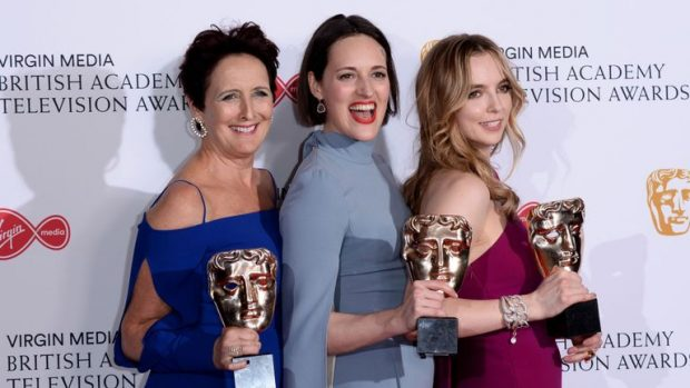 """""""Убивайки Ийв"""" е големият печеливш на церемонията по връчването на телевизионните награди БАФТА в Лондон."""
