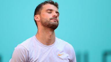 Григор Димитров загуби три позиции в световната ранглиста преди Уимбълдън