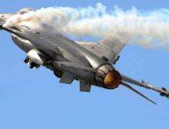 Изтребител Ф-16 се разби в склад до база на ВВС в Калифорния