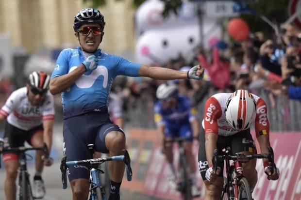 """Еквадорецът Карапас спечели четвъртия етап от """"Джирото"""""""