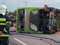 Тежка катастрофа с пътнически автобус в Германия