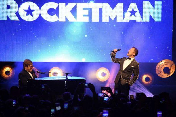 Уникално афтърпарти след премиерата на Rocketman в Кан