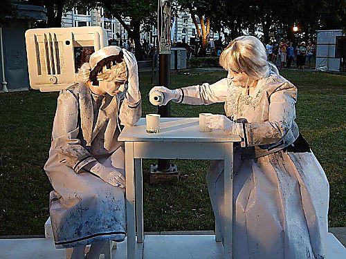 Фестивал на живите статуи в Русе