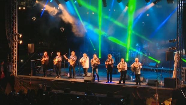 Джипси Кингс след концерта си в Ямбол
