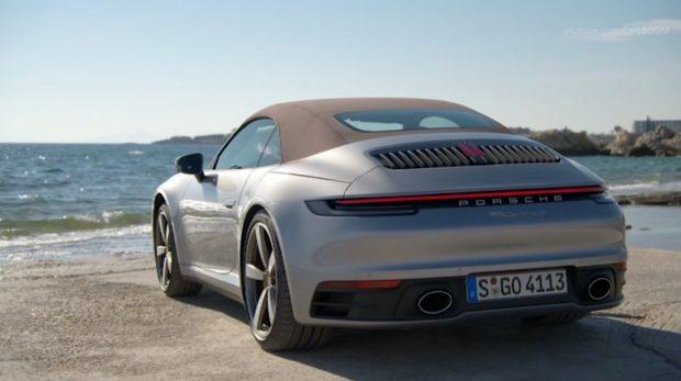 Тест на новото Porsche 911 кабриолет