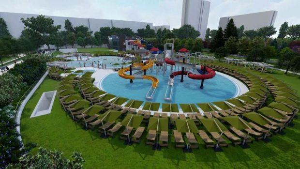 До ноември приключва строежът на аквапарка в София