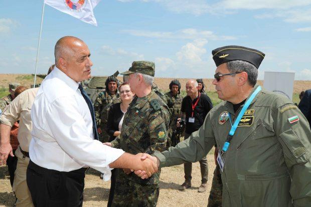 С новите изтребители България ще охранява и въздушното пространство на Северна Македония