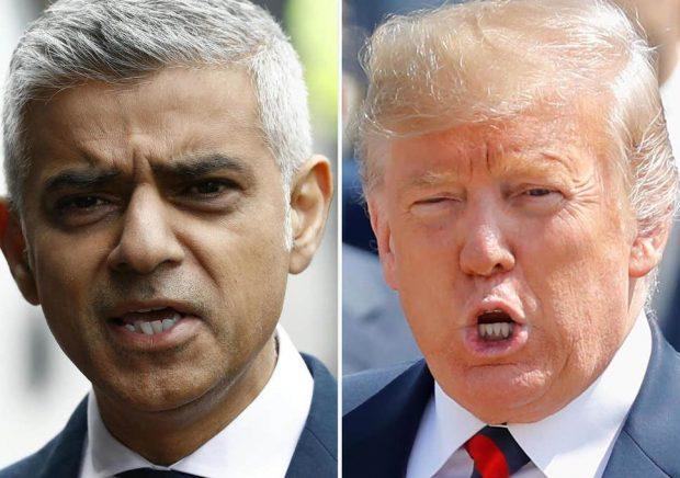 Тръмп с нови критики към кмета на Лондон