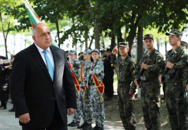 Бойко Борисов: Военните учения са важни и за дипломацията ни и показват, че трябва да живеем в мир