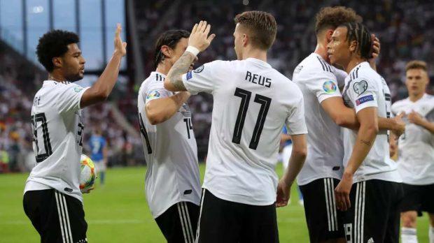 Германия унизи Естония с 8:0 в евроквалификация