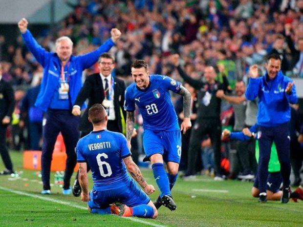 Италия се наложи с 2:1 над Босна и Херцеговина след обрат