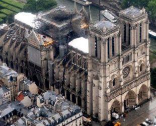 922 милиона евро дарителите са обещали да дарят за възстановяване на катедралата Нотр Дам