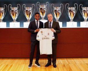 Реал Мадрид представи 18-годишният Родриго, който дойде от Сантос за 45 млн.евро