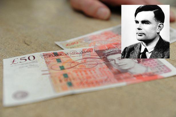 Алън Тюринг ще бъде лице на новата банкнота от 50 паунда