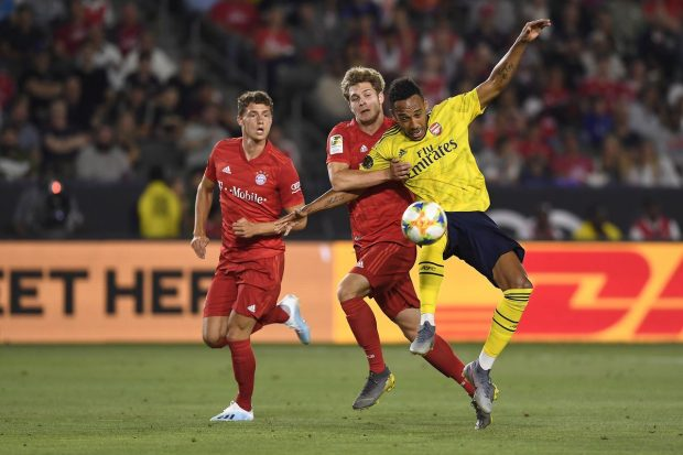 Арсенал надигра Байерн с 2:1 на американска земя