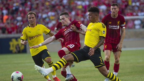 Борусия (Дортмунд) надигра с 3:2 Ливърпул в контролна среща