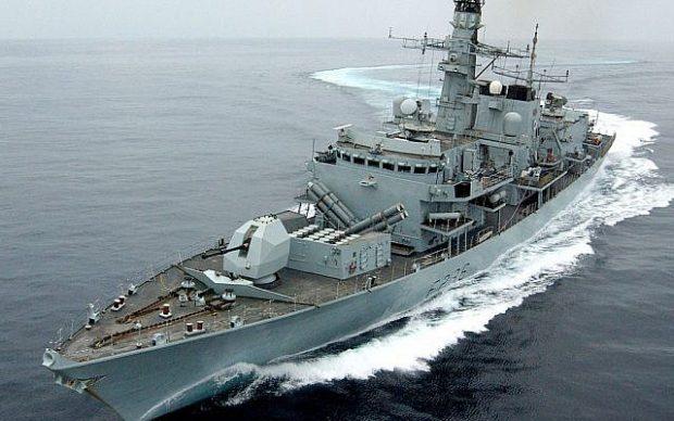 Ирански лодки се опитаха да възпрепятстват британски танкер в Персийския залив