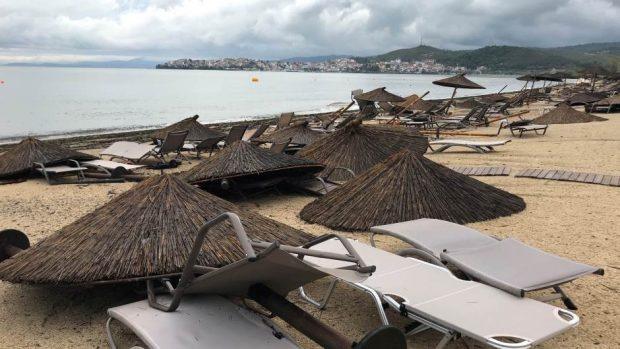 Халкидики се бори с последиците от стихията