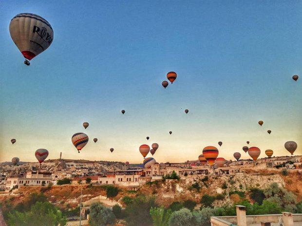 Международен фестивал на балоните с горещ въздух в Кападокия