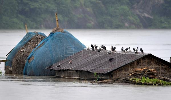 Десетки загинаха при наводнения в района на Непал и Североизточна Индия