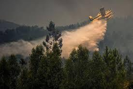 Силните ветрове разпалват пожарите в Португалия
