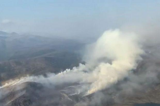 Тежко задимяване над Сибир заради горските пожари, бушуващи от седмица