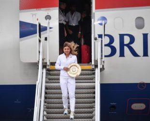 Симона Халеп беше посрещната с държавни почести у дома