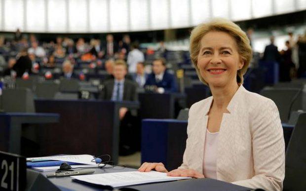 Евролидери поздравиха Урсула фон дер Лайен за избирането й начело на ЕК
