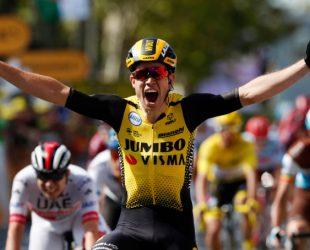 Вут ван Ерт спечели 10-ия етап в Тура, големи размествания за жълтата фланелки