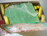 Откриха 75 кг. чист кокаин в кашони с банани