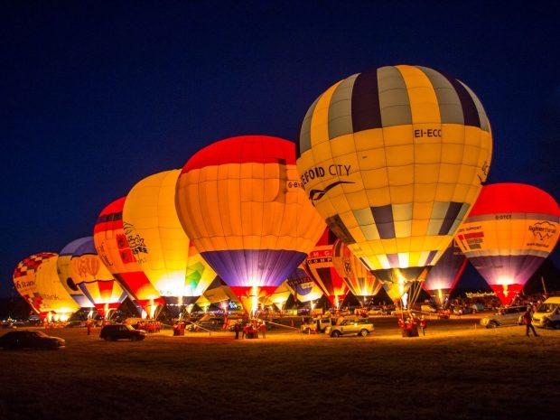Голям фестивал на балони се провежда в Бристол